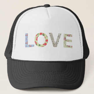 Casquette Typographie chic minable d'amour - blanc