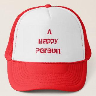 Casquette Une personne heureuse