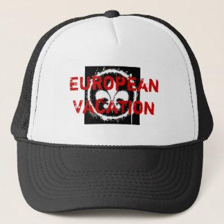 Casquette Vacances européennes