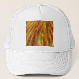 Casquette Vagues ambres métalliques de grain