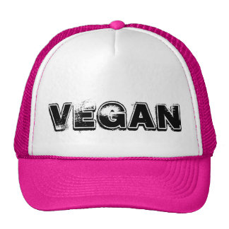 Casquette végétalien de chapeau