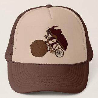 Casquette Vélo d'équitation de scarabée de Dung avec la roue