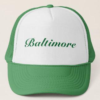 Casquette Vert de Baltimore