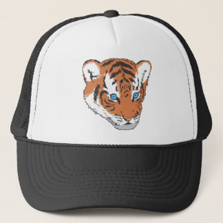 Casquette Visage de tigre de bébé