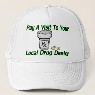 Casquette Visite à votre trafiquant de drogue local