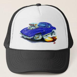 Casquette Voiture 1965 bleu-foncé de Corvette