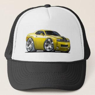 Casquette Voiture de jaune de challengeur de Dodge