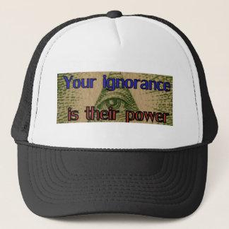 Casquette Votre ignorance est leur puissance