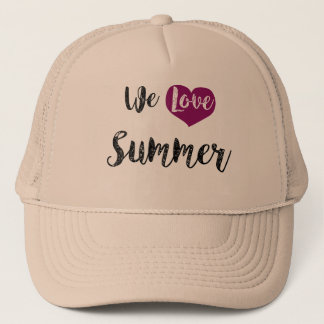 Casquette « We love Summer ""