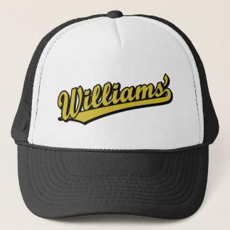 Casquette Williams en or