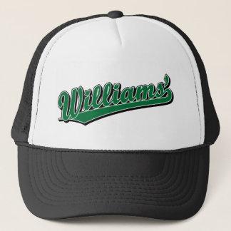 Casquette Williams en vert