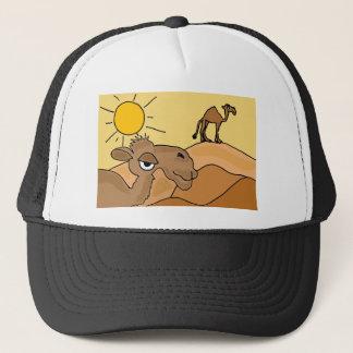 Casquette XX chameau en art populaire de désert