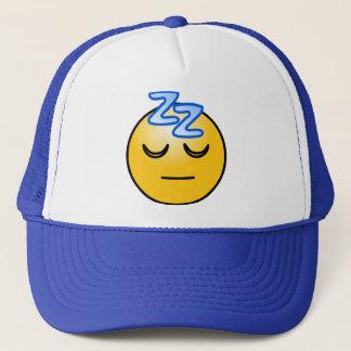Casquette zzZZ d'onomatopée somnolent, pensée de relaxation