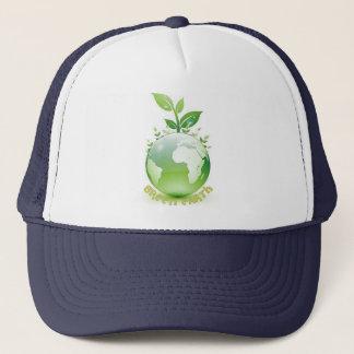 Casquettes de la terre verte