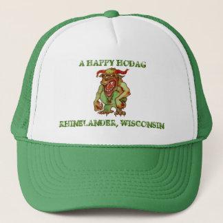 Casquettes heureux d'un casquette d'amusement de