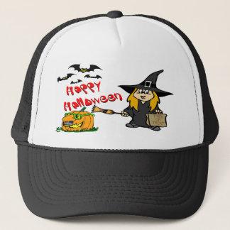 Casquettes mignons de sorcière de Halloween