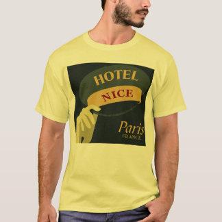 Casquettes pour Nice style de Paris France d'hôtel T-shirt