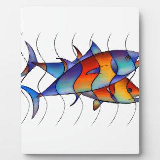 Cassanella - poisson rêveur photo sur plaque