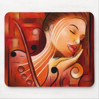 Casselopia - rêve de violon tapis de souris