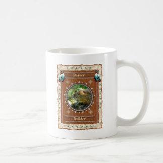 Castor - tasse de café classique de constructeur