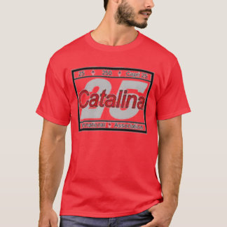 Catalina 25 T-shirt des 2007 ressortissants