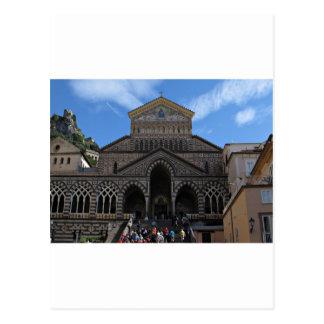 Cathédrale à Amalfi Carte Postale