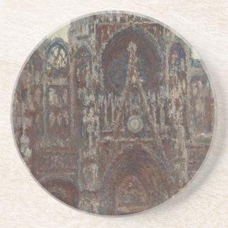 Cathédrale de Rouen, soirée, harmonie dans le brun Dessous De Verres