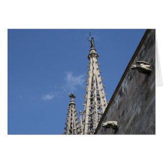 Cathédrale de St Eulalia, Barcelone Carte
