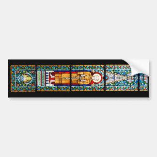 cathédrale Matthias de religion de Budapest en Autocollant De Voiture