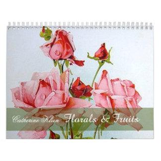 Catherine Klein floral et calendrier de coutume de