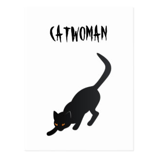 Catwoman Carte Postale