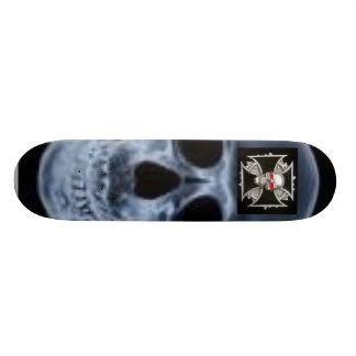 Cavalier de crâne skateboard  20 cm
