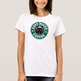 Cavy Rocks Coffee Tee T-shirt