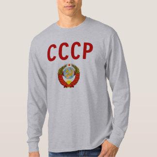 CCCP de USSR Sovjetunie met het Embleem van de T Shirt