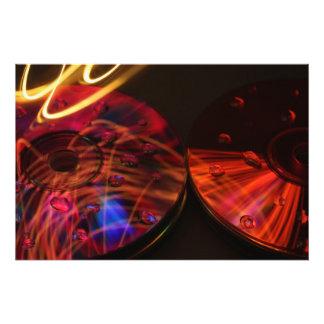 CD abstrait Tirages Photo