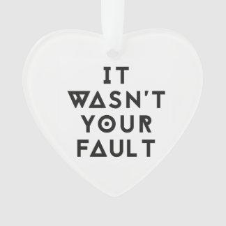 Ce n'était pas votre coeur de défaut