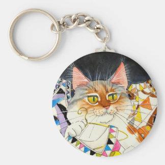 Ce qui est nouveau porte - clé de Pucci-chat Porte-clés