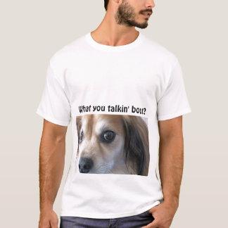 ce qui vous accès de talkin ? t-shirt