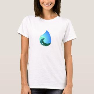 Ce T-shirt salé de logo d'avant de la vie
