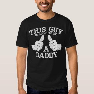 Ce type va être une chemise d'obscurité de papa tee shirt