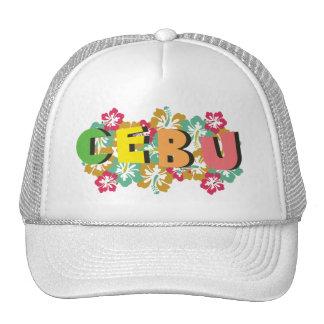 Cebu Philippines sur les fleurs tropicales de Casquette De Camionneur