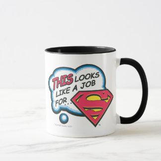Ceci ressemble à un travail pour Superman Mug