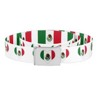 Ceinture Drapeau du Mexique