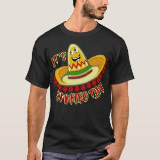 Célébration du T-shirt de sombrero de Cinco De