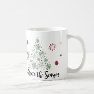 Célébrez la tasse de saison
