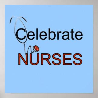 Célébrez le T-shirts et les cadeaux d'infirmières