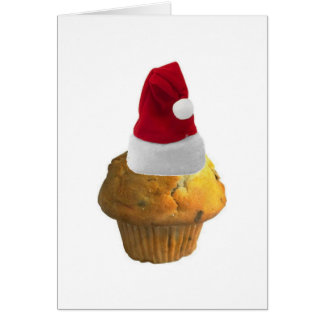 Célébrez Noël avec un petit pain Carte De Vœux
