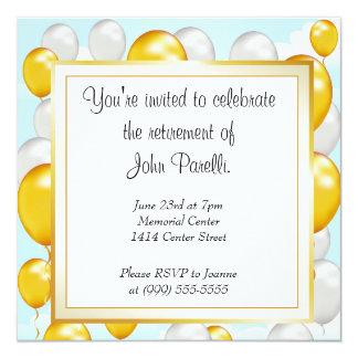 Célébrez une retraite carton d'invitation  13,33 cm