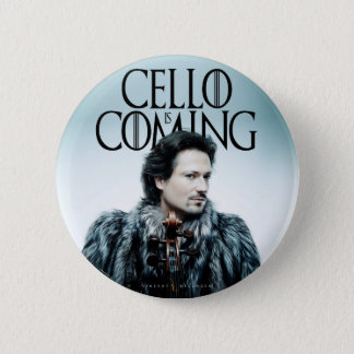 Cello is Coming #1 Badge Rond 5 Cm