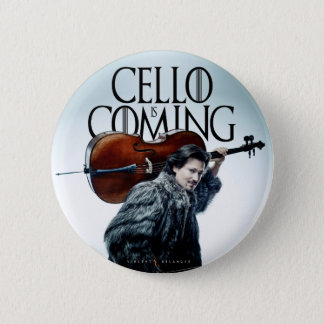 Cello is Coming #2 Badge Rond 5 Cm